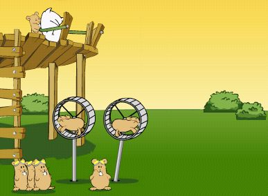 flight of the hamsters game