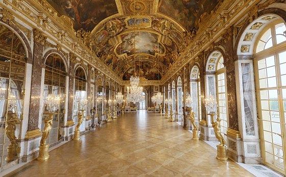 Зеркальный зал, Версаль