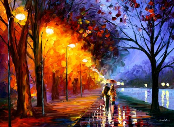 Leonid Afremov Art Work