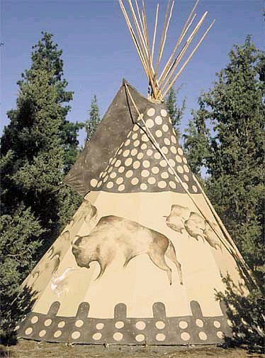 Sioux tipis images galleries with a bite for Reliable tipi