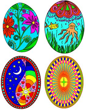 Decorate An Easter Egg Online Image
