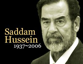 Ursi's BLOG ///// Saddam Hussein Execution