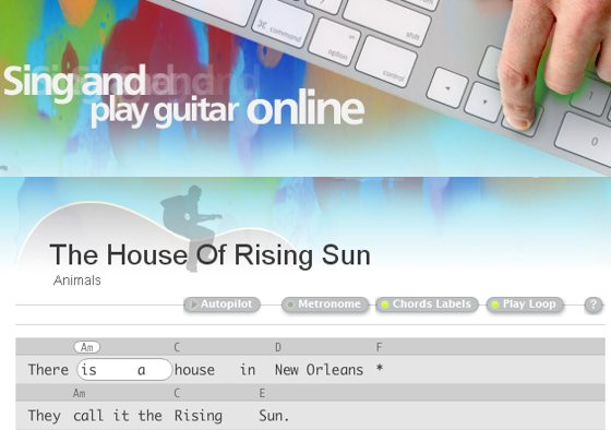 Animals House Of The Rising Sun Tab Songsterr House Plan