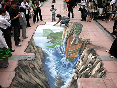 Landscape Chalk Painting