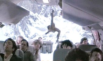... Here are the top 10 scenes that will put you off air travel for good