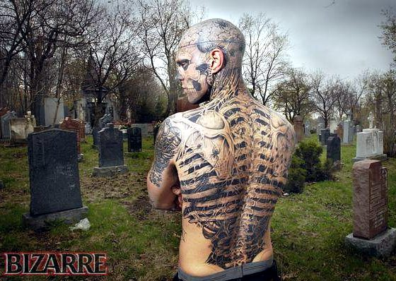 Mike DeVries Tattoos